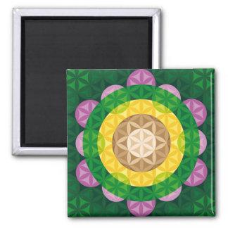 Flower of Life Refrigerator Magnet