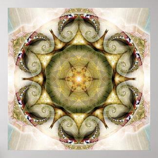 Flower of Life Mandala 19 Poster