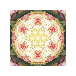 Flower of Life Mandala 6 Wrapped Canvas Print