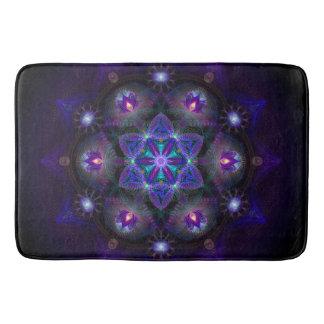 Flower Of Life Mandala Bath Mat