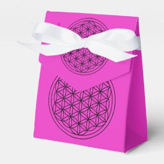 Flower of Life Mandala Favor Box