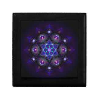 Flower Of Life Mandala Gift Box