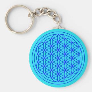 Flower of Life Mandala Keychain