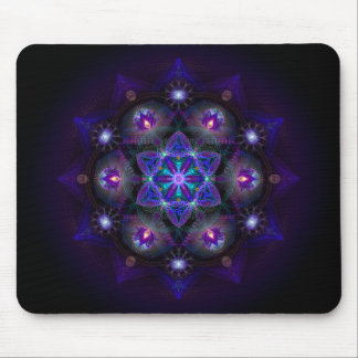 Flower Of Life Mandala Mouse Pad