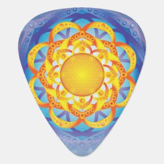 Flower of Life Mandala Plectrum