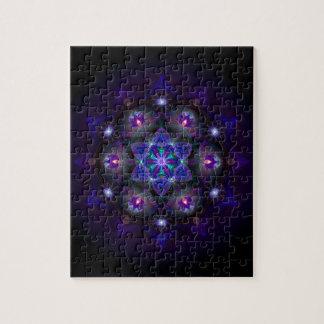 Flower Of Life Mandala Puzzle
