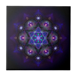 Flower Of Life Mandala Small Square Tile