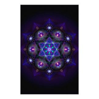 Flower Of Life Mandala Stationery