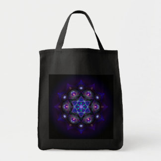 Flower Of Life Mandala Tote Bag