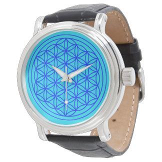 Flower of Life Mandala Watch
