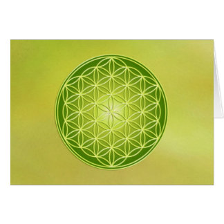 Flower of Life - Manifestation Card