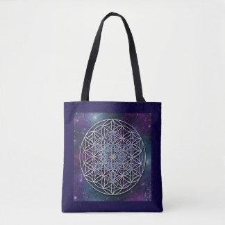 Flower Of Life - Metatron cube universe Tote Bag