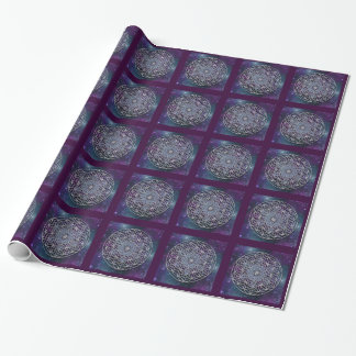Flower of Life - Metatron Cube - universe Wrapping Paper