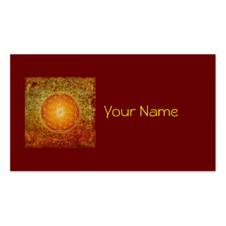 Flower of Life - Ornament III Business Card Template