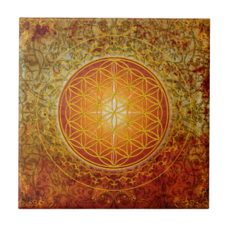 Flower of Life - Ornament III Tile
