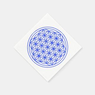 Flower of Life Paper Napkins