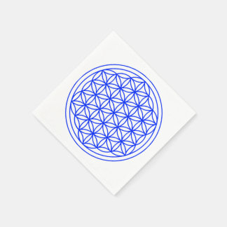 Flower of Life Paper Napkins Disposable Napkin