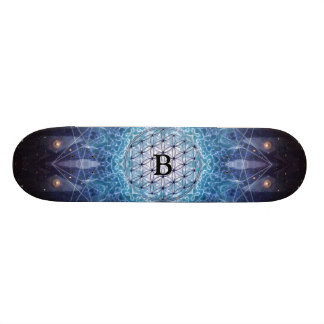 Flower of Life / Personalized Spiritual Gift Skate Boards