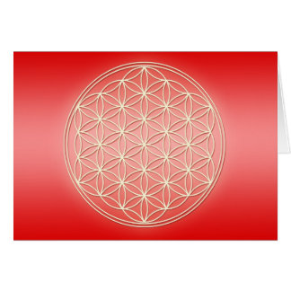 Flower of Life - Pure Energy Card