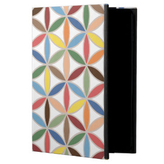 Flower of Life Retro Color Big Pattern Powis iPad Air 2 Case
