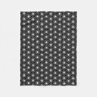 Flower Of Life Sacred Geometry Fleece Blanket