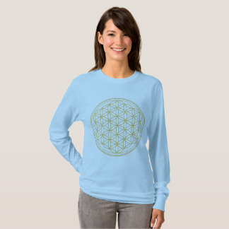 Flower Of Life Sacred Geometry Women's Shirt