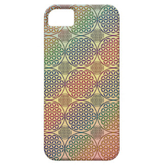 Flower of Life - stamp grunge pattern 1 iPhone 5/5S Cover