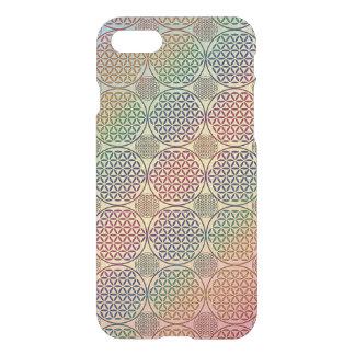 Flower of Life - stamp grunge pattern 1 iPhone 7 Case