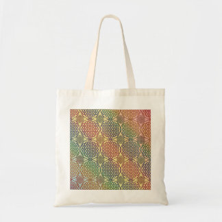 Flower of Life - stamp grunge pattern 1 Tote Bags