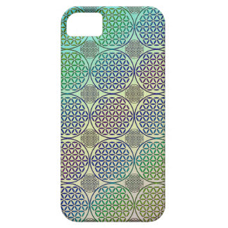 Flower of Life - stamp grunge pattern 2 iPhone 5/5S Cases