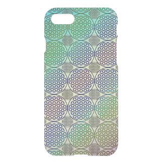 Flower of Life - stamp grunge pattern 2 iPhone 7 Case