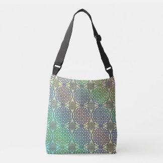 Flower of Life - stamp grunge pattern 2 Tote Bag