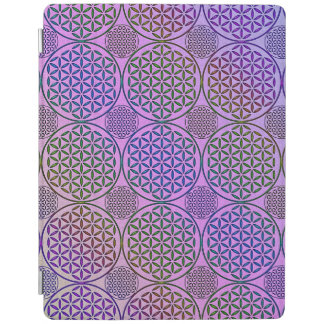Flower of Life - stamp grunge pattern 3 iPad Cover
