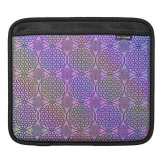 Flower of Life - stamp grunge pattern 3 Sleeve For iPads