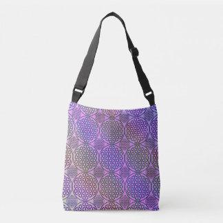 Flower of Life - stamp grunge pattern 3 Tote Bag
