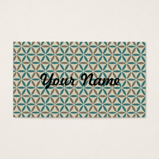 Flower of Life - stamp pattern - BG 1 Business Card