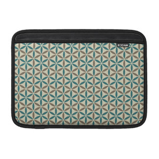 Flower of Life - stamp pattern - BG 1 MacBook Air Sleeve