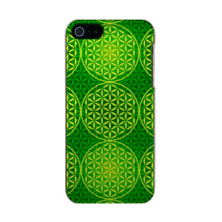 Flower of Life - stamp pattern - green Incipio Feather® Shine iPhone 5 Case