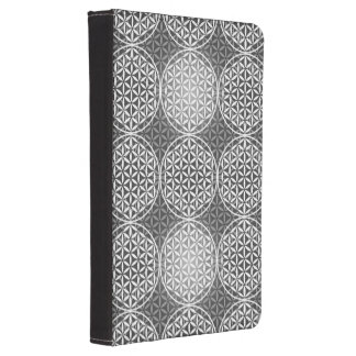 Flower of Life - stamp pattern - grey Kindle Touch Cover