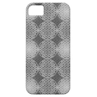 Flower of Life - stamp pattern - grey iPhone 5/5S Case