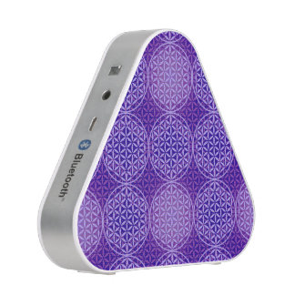 Flower of Life - stamp pattern - purple