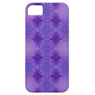 Flower of Life - stamp pattern - purple iPhone 5/5S Case
