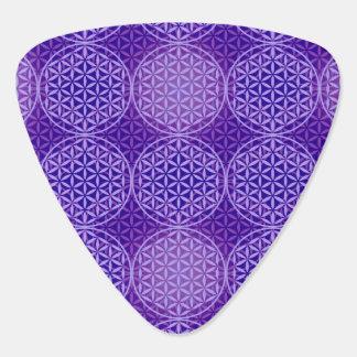 Flower of Life - stamp pattern - purple Pick