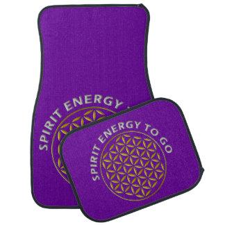 FLOWER OF LIFE - stamp - Spirit Energy to go Floor Mat