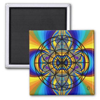 Flower of Life Voyager Magnet