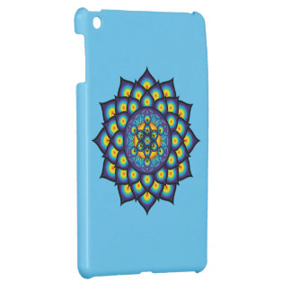 Flower of Life with Metatron's Cube iPad Mini Cases