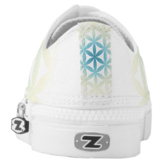 Flower of Life Zips! Printed Shoes