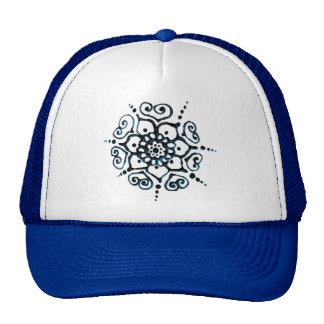Flower Of Love (Henna) (Blue) Cap