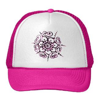 Flower Of Love (Henna) (Pink) Cap