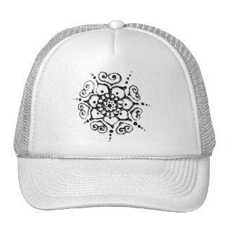 Flower Of Love (Henna) (Silver/effect) Cap